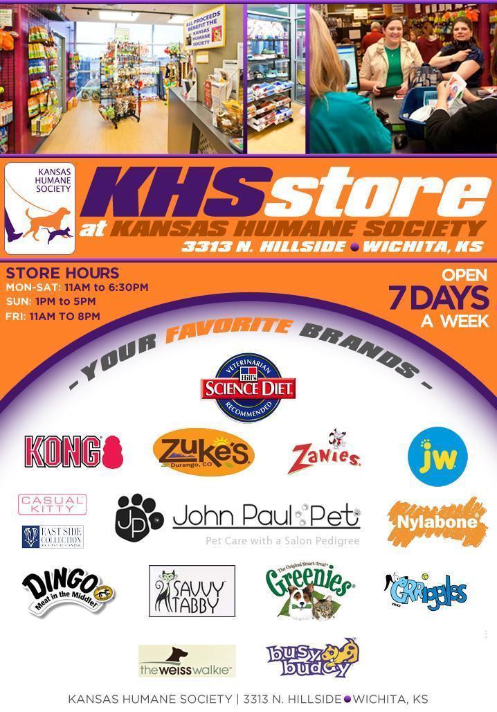 KHS Shop | Kansas Humane Society | Animal Shelter